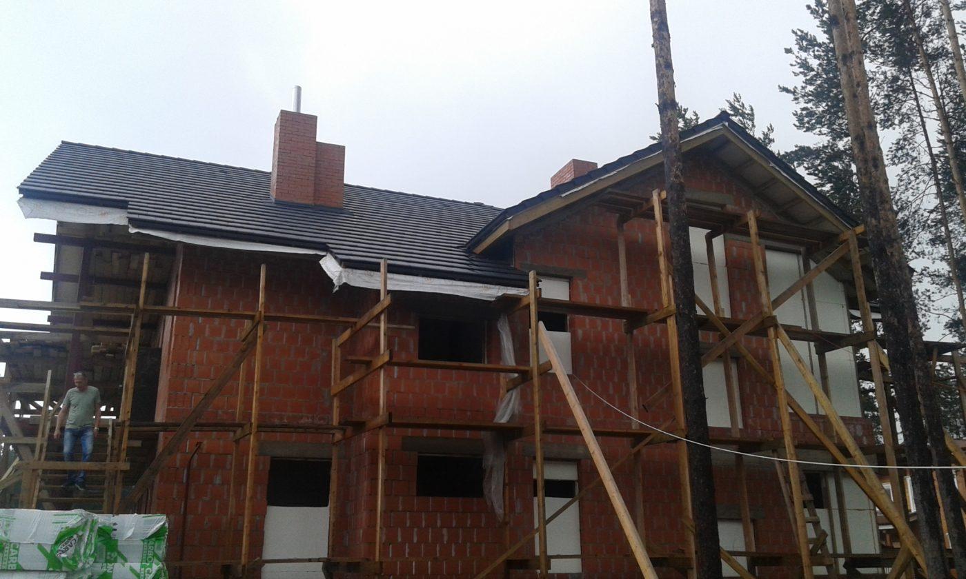 Начинаются работы по реконструкции загородного дома в п. Энколово