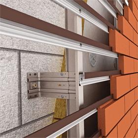 Монтаж фасадов вентилируемых