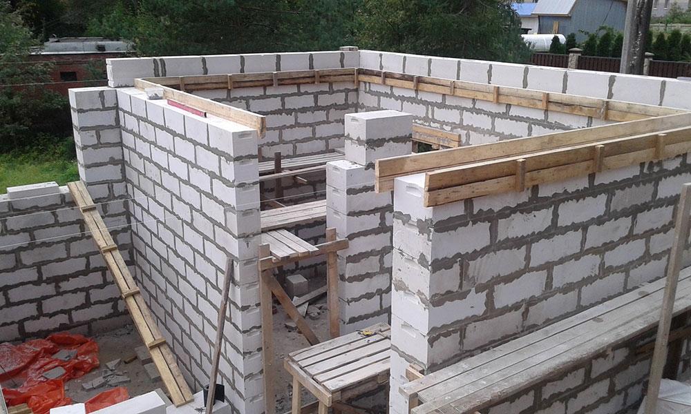 СК Ситируф продолжает строительство коттеджа в г. Зеленогорск