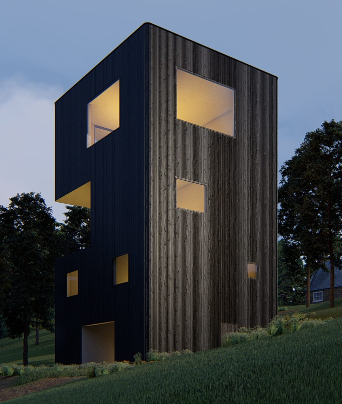 Проект BLACK HIGHROOF 185